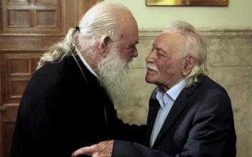 Ιερώνυμος: Ο Γλέζος μου ζήτησε εκκλησιαστική κηδεία