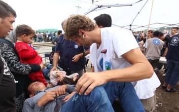Κλινικές και παιδότοπος στην Ειδομένη για τους πρόσφυγες