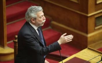 Διαφοροποιείται ο Κοντονής από τη θέση του ΣΥΡΙΖΑ για τη συνταγματική αναθεώρηση