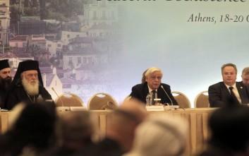 Παυλόπουλος: Μπροστά στην τραγωδία ουδεμία συνείδηση μπορεί να κοιμάται ήσυχη