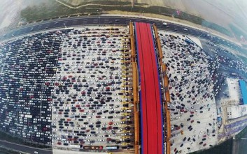 Τι γίνεται όταν υπάρχει μποτιλιάρισμα σε αυτοκινητόδρομο της Κίνας