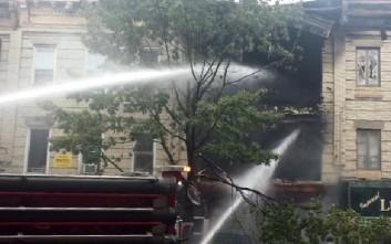 Ένας νεκρός και 3 τραυματίες από έκρηξη σε διαμέρισμα στο Μπρούκλιν