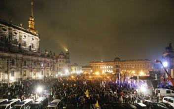 Επεισόδια σε διαδήλωση του Pegida στη Γερμανία