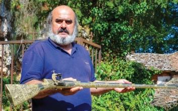 Το χρυσό καριοφίλι του Αλή Πασά επέστρεψε στο Νησί των Ιωαννίνων