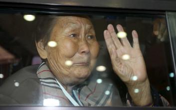 Ταξίδι από τη Νότια στη Βόρεια Κορέα για να δουν τους συγγενείς τους