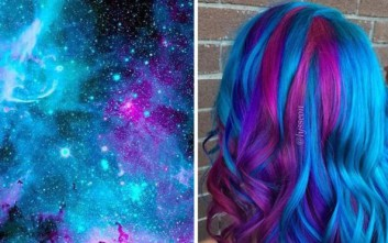 Μαλλιά εμπνευσμένα από... γαλαξίες