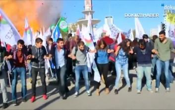 Συγκέντρωση στο Σύνταγμα για τη φονική επίθεση στην Άγκυρα