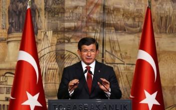Εντολοδόχος πρωθυπουργός ο Νταβούτογλου