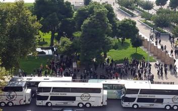 Κυκλοφοριακό κομφούζιο στη Θεσσαλονίκη από… οπαδούς της Ντόρτμουντ