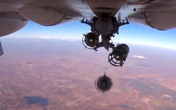 Ρωσικά πολεμικά αεροπλάνα εν δράσει