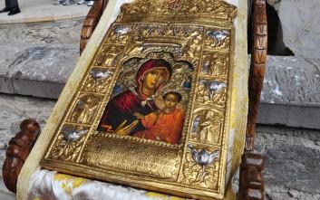 Την εικόνα της Παναγίας Σουμελά υποδέχεται το Μαρούσι