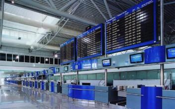 Περίπου 1,8 εκατ. επιβάτες διακινήθηκαν τον Ιανουάριο του 2016 στα αεροδρόμια