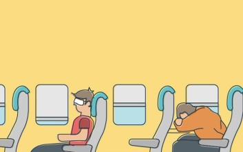 Δέκα τρόποι για να κοιμηθείτε σε ένα αεροπλάνο