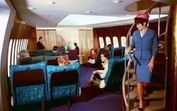 Η πρώτη θέση στα αεροπλάνα στην δεκαετία του '50