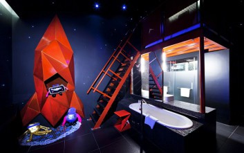 Ξενοδοχεία που θα σας στείλουν… στο διάστημα