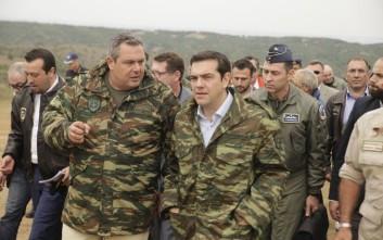 Καμμένος: Σήμερα απεδείχθη η ετοιμότητα των Ενόπλων Δυνάμεων