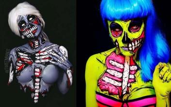Body painting που ξεπερνάει τα όρια