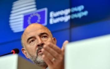 Μοσκοβισί: Η ανάπτυξη στην Ελλάδα επιστρέφει