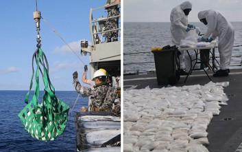 Το Ναυτικό της Αυστραλίας κατέσχεσε και κατέστρεψε ηρωίνη αξίας 126 εκατ. δολαρίων
