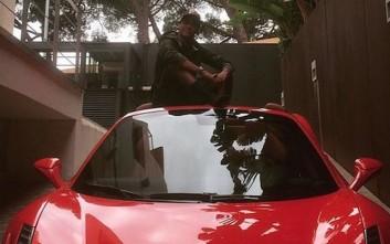 Σίφουνας με τη Ferrari ο Νεϊμάρ