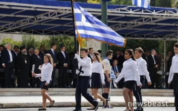 Φωτογραφίες από τη μαθητική παρέλαση