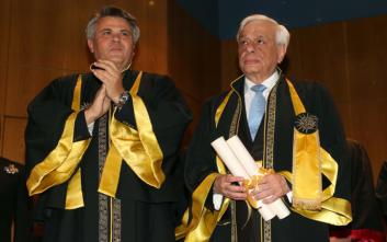 Επίτιμος διδάκτορας του πανεπιστημίου Μακεδονίας ο Παυλόπουλος