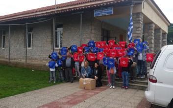 Δωρεάν αθλητικός εξοπλισμός σε μαθητές απομακρυσμένων Δημοτικών