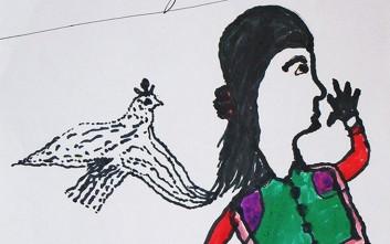 Ασυνόδευτοι ανήλικοι ζωγραφίζουν τη ζωή που ονειρεύονται