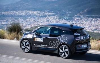 Tο BMW i3 νικητής στο EKO Mobility Rally