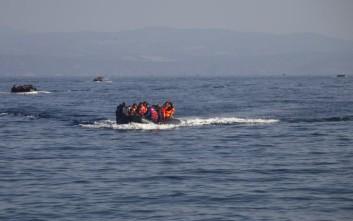 Ψαράδες έσωσαν 41 πρόσφυγες στη Μυτιλήνη