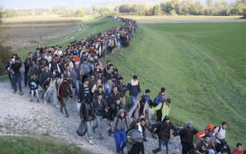 «Σταματώντας πρόσφυγες στα σύνορα Σλοβενίας-Κροατίας αποκλείουμε την Ελλάδα από την Σένγκεν»