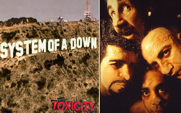System of a Down - Toxicity Sod1