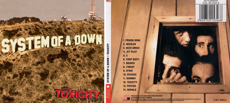 System of a Down - Toxicity Sod2