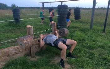 Ρώσοι έφτιαξαν υπαίθριο γυμναστήριο