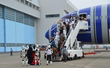 Η πρώτη θεματική πτήση αεροπορικής εταιρείας