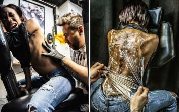 Ο πόνος και η... νιρβάνα των τατουάζ