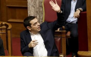 Στη Βουλή ο Αλέξης Τσίπρας για το προσφυγικό