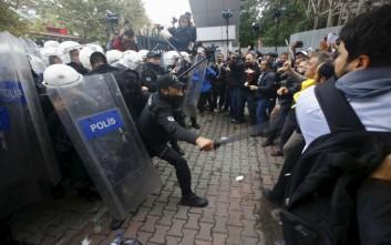 Επεισόδια σε αντικυβερνητική διαδήλωση στην Κωνσταντινούπολη