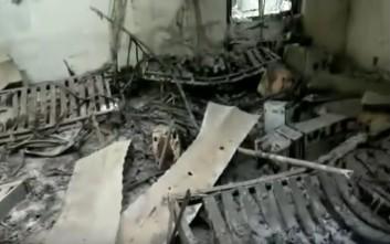Δείτε πώς έγινε το νοσοκομείο των Γιατρών Χωρίς Σύνορα που βομβαρδίστηκε