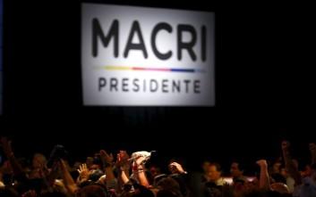Ο Μαουρίτσιο Μάκρι επόμενος πρόεδρος της Αργεντινής