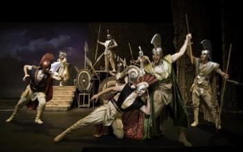 «Ομήρου Ιλιάδα» της Κάρμεν Ρουγγέρη στο Ίδρυμα Μιχάλης Κακογιάννης