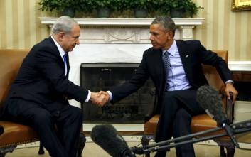 Ομπάμα: Προτεραιότητα της Ουάσινγκτον η ασφάλεια του Ισραήλ