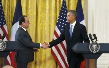 Συνάντηση Ομπάμα με Ολάντ στην Ουάσιγκτον