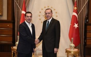 Τηλεφωνική συνομιλία Τσίπρα –Ερντογάν για το Κυπριακό