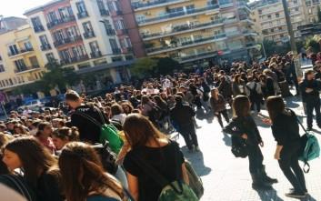 Πορεία διαμαρτυρίας μαθητών στο Ηράκλειο