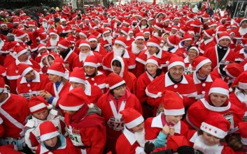 Κλειστό αύριο το κέντρο για το «Athens Santa Run»