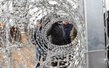 Ομιλίες και δράσεις κατά του φράχτη στον Έβρο