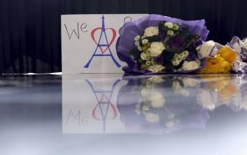 Τελετή μνήμης στο Προεδρικό για τα θύματα του Παρισιού