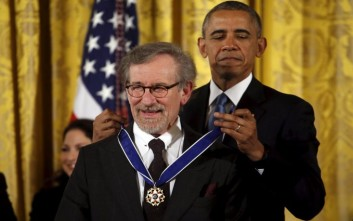 Μετάλλιο ελευθερίας για τον Στίβεν Σπίλμπεργκ
