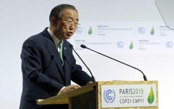 Μπαν Κι Μουν: Καραδοκεί η κλιματική καταστροφή